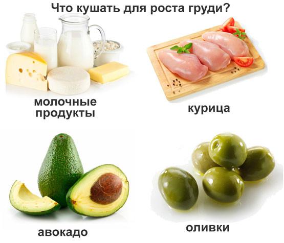 Кушать продукты для увеличения члена